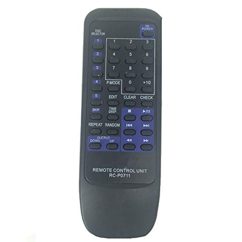 (Artshu Remote Control for Kenwood CD Player RC-P0711 CD406 CD403 CD404 CD406 CD403 DPF7002)