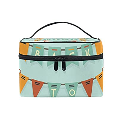 ce26083605f6 well-wreapped ALIREA Back To School Buntings Cosmetic Bag Travel ...