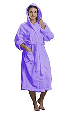 byLora Unisex Microfiber Hooded Robes For Men and Women