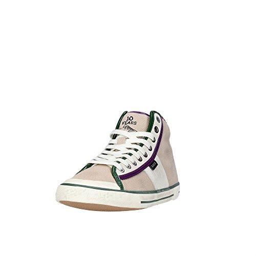 D.a.t.e. Tender HIGH-27 Hoch Sneakers Damen Beige/Grün