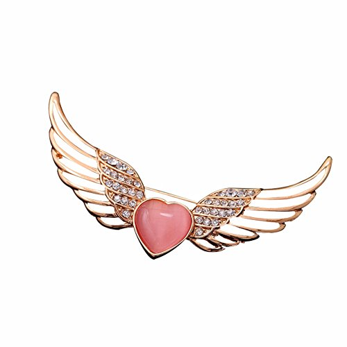 Ruby Love Brooch Pin