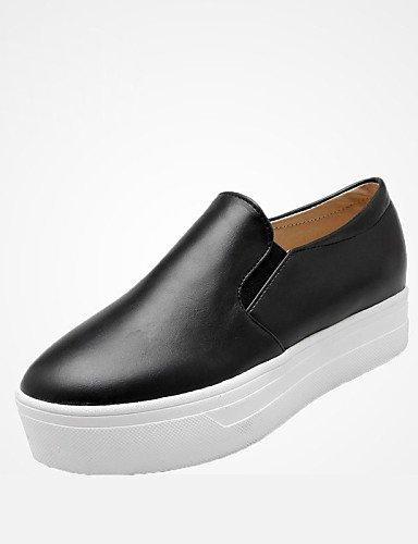 ZQ Zapatos de mujer - Tacón Plano - Punta Redonda - Planos - Exterior / Oficina y Trabajo / Casual / Deporte / Fiesta y Noche / Laboral - , red-us10.5 / eu42 / uk8.5 / cn43 , red-us10.5 / eu42 / uk8.5 red-us9 / eu40 / uk7 / cn41