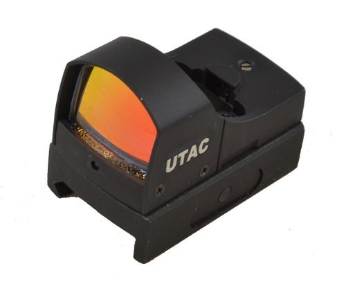 UTAC Sensor Tactical Micro Compact Mini Open Reflex Red Dot Sight with Automatic Reticle Brightness Control for Pistol / Rifle / Shotgun by UTAC (Image #5)