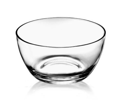 Bormioli Glass Bowls - Luigi Bormioli Michelangelo Masterpiece 10-3/4-inch Serving Bowl
