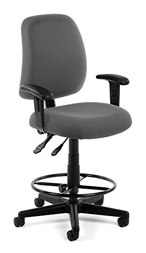 OFM 118-2-AA-DK-805 Posture Series Task Chair with Arms and Drafting ()