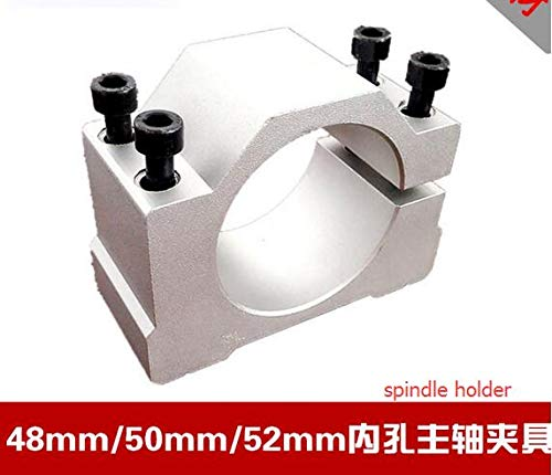 Ochoos 300w 400w 500w spindle clamp 48mm 50mm 52mm 20-66mm aluminum spindle mounts/fixture/chuck/bracket Clamp/holder Clamps/fastening - (Size: Dia.201-213mm)
