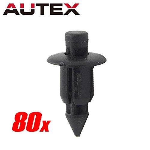 - PartsSquare 80pcs Fender Liner Fastener Rivet Push Clips Retainer Fastener Replacement for Honda ATV