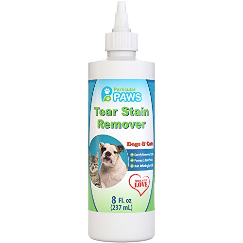 Tear Stain Remover for Dogs and Cats - Lemongrass Oil, Lavender Oil & Tea Tree Oil - 8oz (Stain Removal Tear)