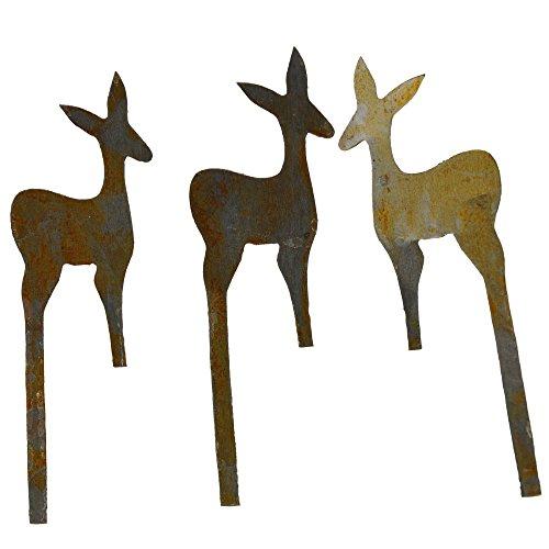 Miniature Fairy Garden Reindeer, Set of 3