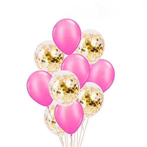 Coerni 10 Pack Latex Balloon Set for Party 12 inch (CC)