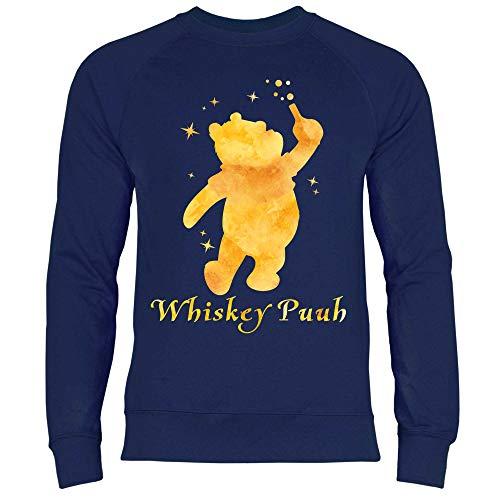 Shirt Pooh Uomo Felpa Whisky Royal Navy Deep x86Tnd