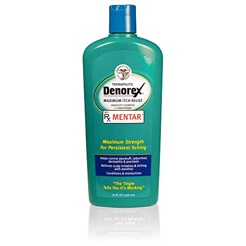 Denorex Therapeutic Maximum Itch Relief Dandruff Shampoo & Conditioner, 10 Fluid Ounce