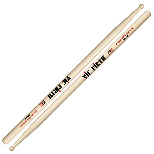 Vic Firth 5B American Sound Hickory Wood Tip Drumsticks