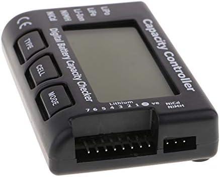 dailymall デジタル 電池チェッカー バッテリーテスター 電池容量測定器 LCD 電圧 精度0.001V