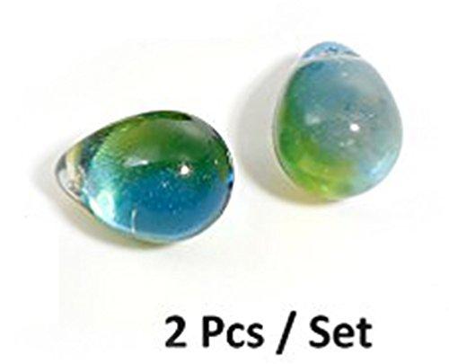 Teardrop Lampwork Glass - Best Wing Jewelry