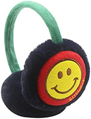Singapore Country Name Red Earmuff Ear Warmer Faux Fur Foldable Outdoor