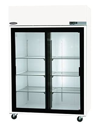 Nor Lake Scientific NSPR502WWG/0 Galvanized Steel Painted White Premier  Refrigerator With 2 Sliding