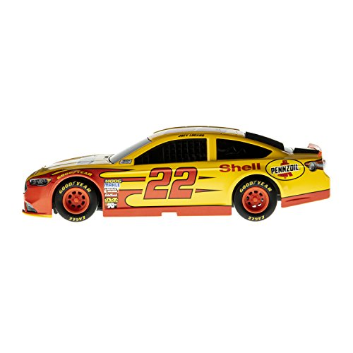 (Lionel Racing Nascar Authentics 2017 Joey Logano #22 Shell-Pennzoil Diecast, Yellow, Black, Red, 1: 24 Scale)
