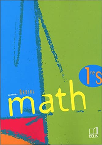 Livre Radial Math 1e S pdf, epub