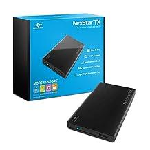 """Vantec NexStar TX 2.5"""" USB 3.0 Hard Drive Enclosure (NST-228S3-BK )"""