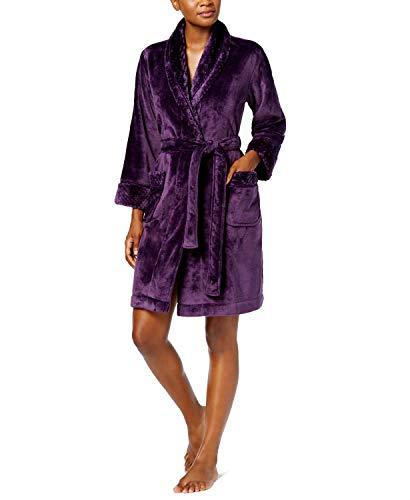 Charter Club Super Soft Wrap Robe, Concord X-Small