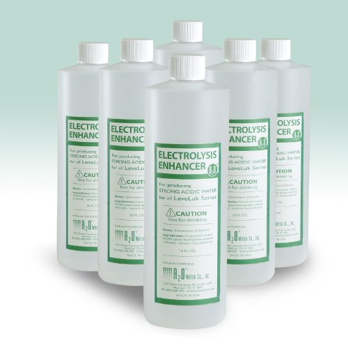 Electrolysis Enhancer - 16 Fl. Oz. (6 Bottles/pack) by Sanastec
