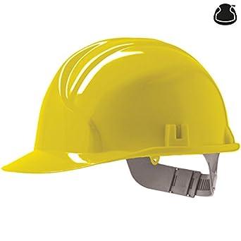 JSP AHC110-000-200 Mk3 - Casco de seguridad con trinquete, color amarillo