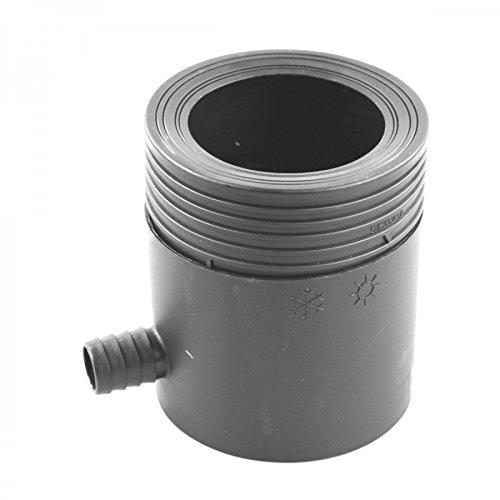 Regensammler DN80-105mm grau Kunststoff