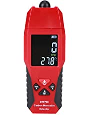 Akozon Carbon Monoxide Meter ST9700 Hand Held High Accuracy and 1000 PPM Measurement Range CO Sensor w/Digital LCD Display Auto Power Off Safety Alarm Battery Operated and Control Buttons