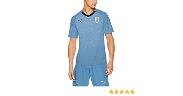 Amazon.com : PUMA 2018-2019 Uruguay Home Football Soccer T-Shirt Jersey : Sports & Outdoors