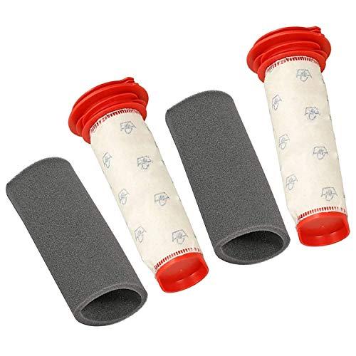 SODIAL Filtro De Barra Principal Lavable + Inserto De Espuma para Bosch Athlet Aspiradora Sin Cable (2 De Cada Uno)
