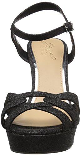 Badgley Mischka Women's Alysa Heeled Sandal Black uCdO5