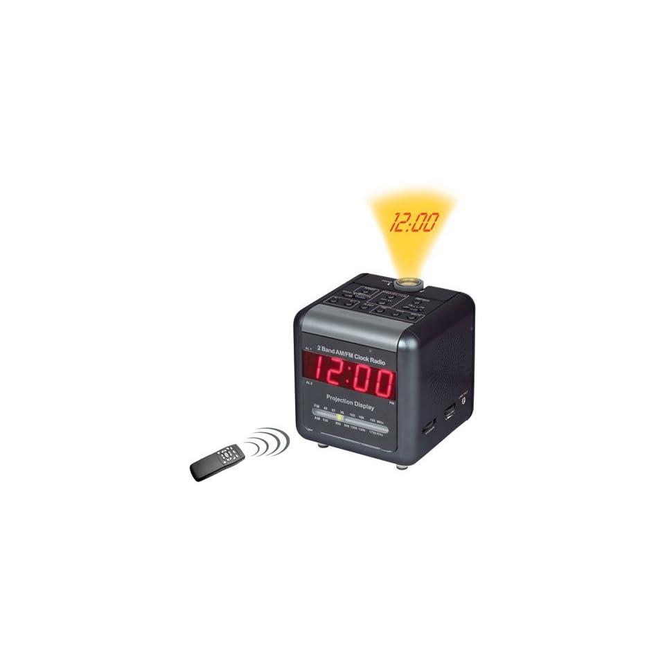 COP ALC DVR32SL AlarmCLOCKRADIO w/ Built In DVR, Projection Displ. Motion Detect 4G, SDNR