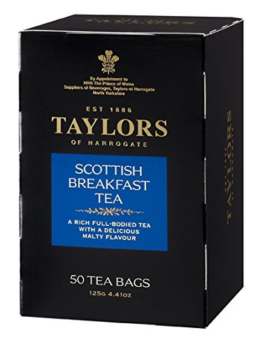 Taylors of Harrogate Scottish Breakfast Tea, 50 Count Tea Bags