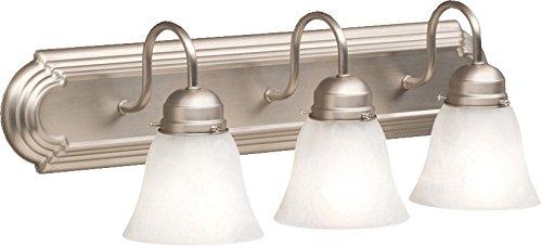 Kichler 5337NI Bath 3-Light, Brushed Nickel