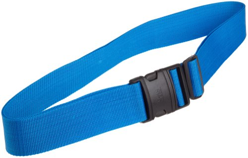 Lewis N. Clark Quick Release Luggage Belt: Add a Bag Adjustable Tie Down Straps for Luggage Security - Blue