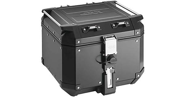 Amazon.com: Baúl trasero negro de 42 litros Givi ...
