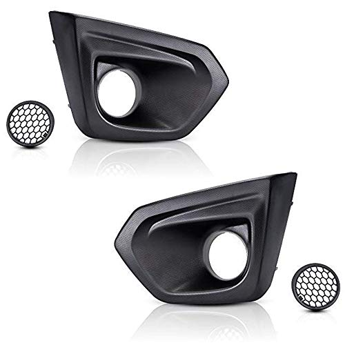 - Issyzone Fog Light Bezel & Cover for Subaru Impreza 2012 2013 2014 Driver & Passenger Side Set