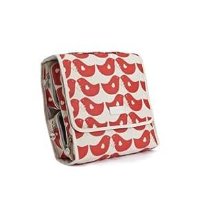 Apple & Bee Carry All Traveler - Lovebirds Red