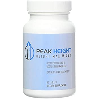 1 Grow Taller Height Pill Supplement-Peak Height 6 Month Supply-Height  Supplement-Doctor