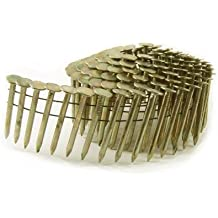 B&C Eagle ACR-1 Round Head 1-Inch x .120 Smooth Shank Electrogalvanized Coil Roofing Nails (1,080 per box)