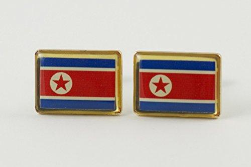 North Korea Flag Cufflinks