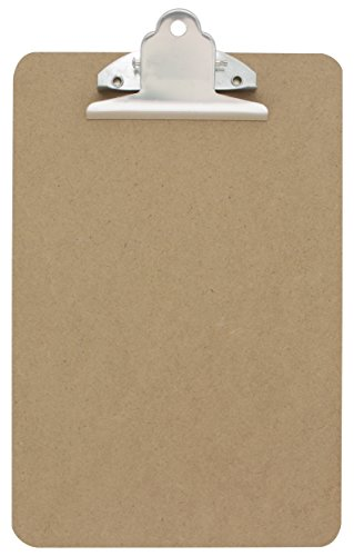 Emraw Small Memo Pad Size Clipboards (6