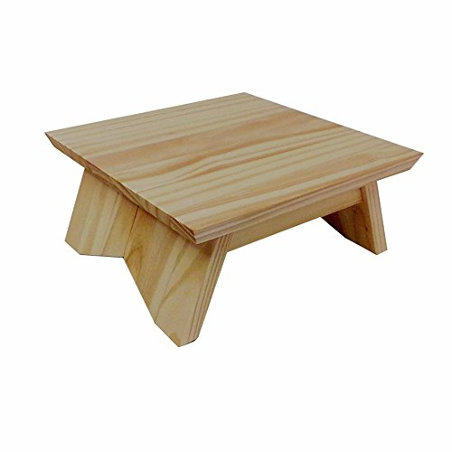 EarthBench Pedestal Stand ~ PINE (Shrine Table Pedestal: 15'×9' wide)