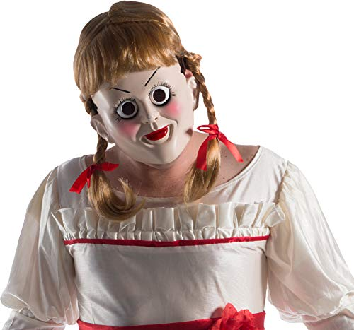 Rubie's Unisex-Adults Annabelle: Creation Mask With Wig, As Shown, One Size