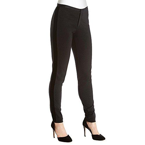 MICHAEL Michael Kors Women's Pointelle Striped Velvet Pants (Black, - Friday Mk Black
