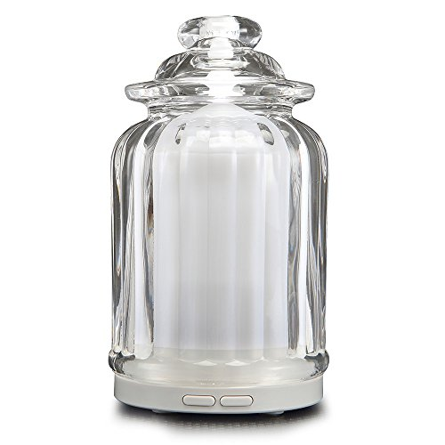 AromaAllure-Glass-Ultrasonic-Aromatherapy-Diffuser-White-Glass-Diffuser-for-Home-Office-Car-Travel
