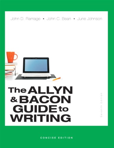 Allyn+Bacon Guide To Writing,Concise