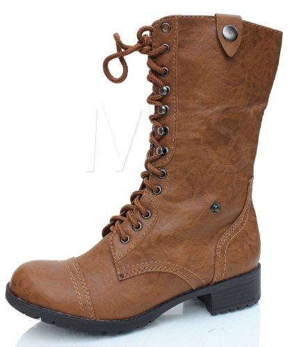 SODA Women's Oralee Military Boot