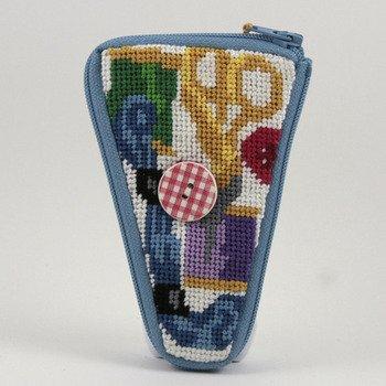 Scissor Case - Sewing - Needlepoint -